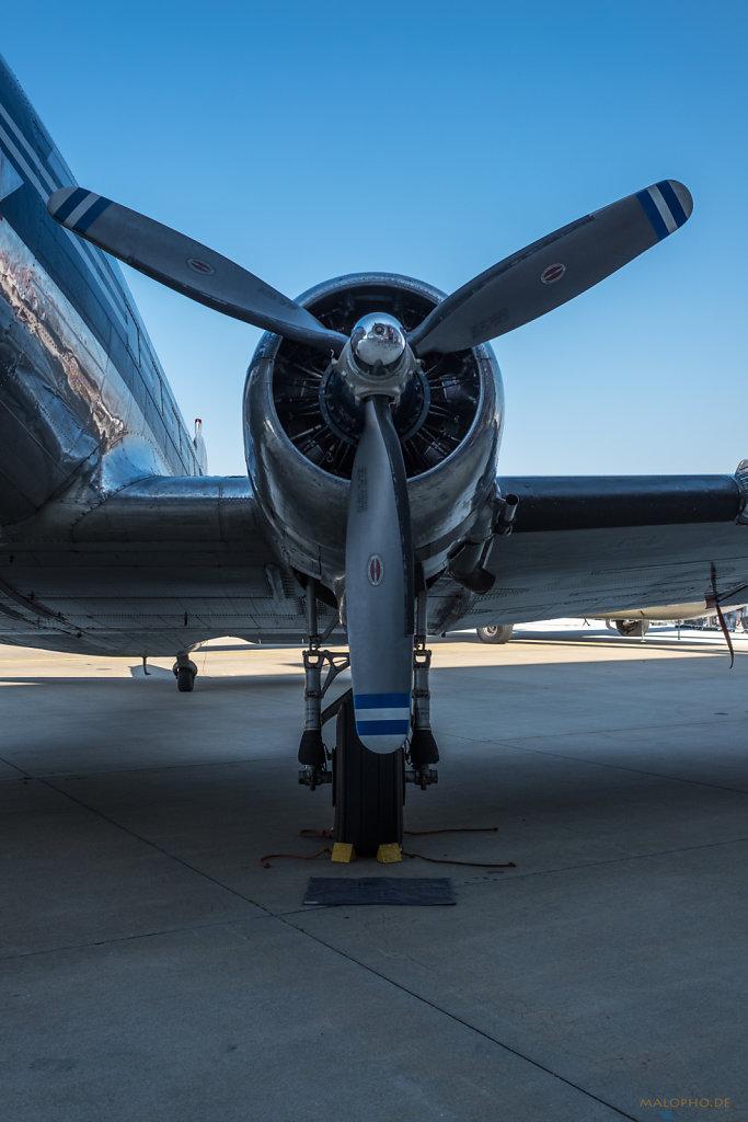 DC-3 Antrieb