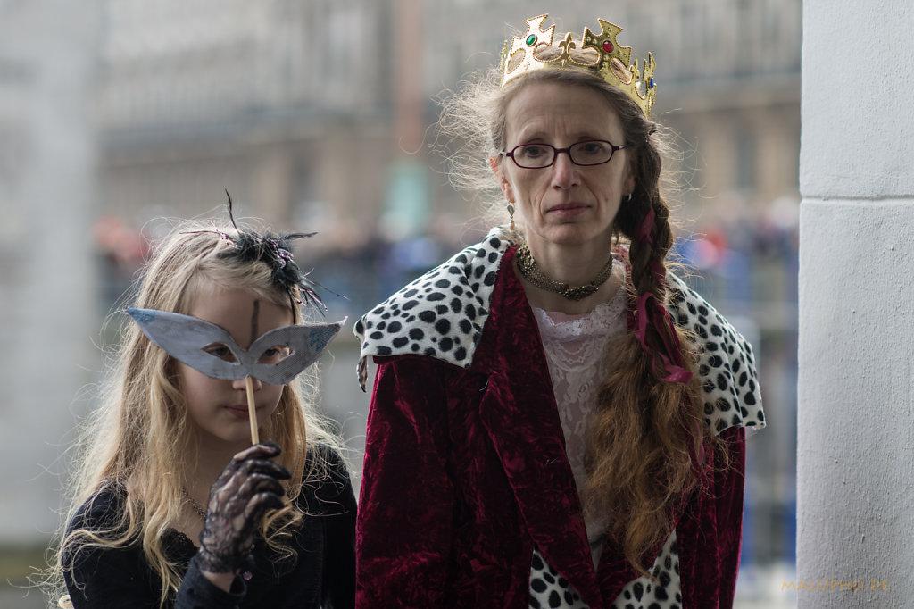 Traurige Königin
