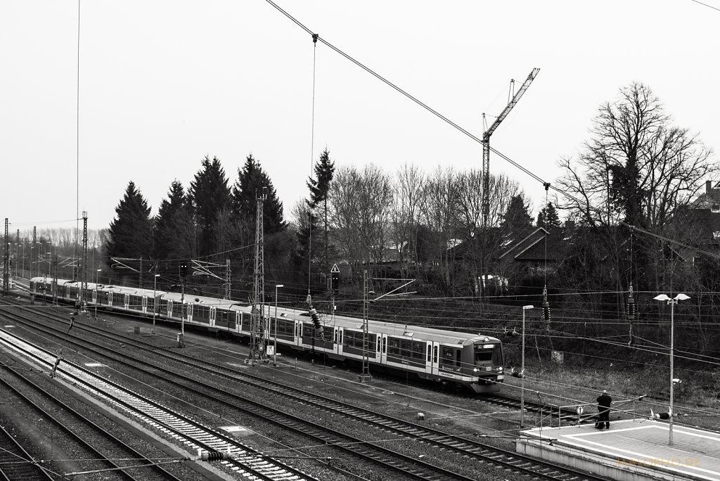 S-Bahn Blick