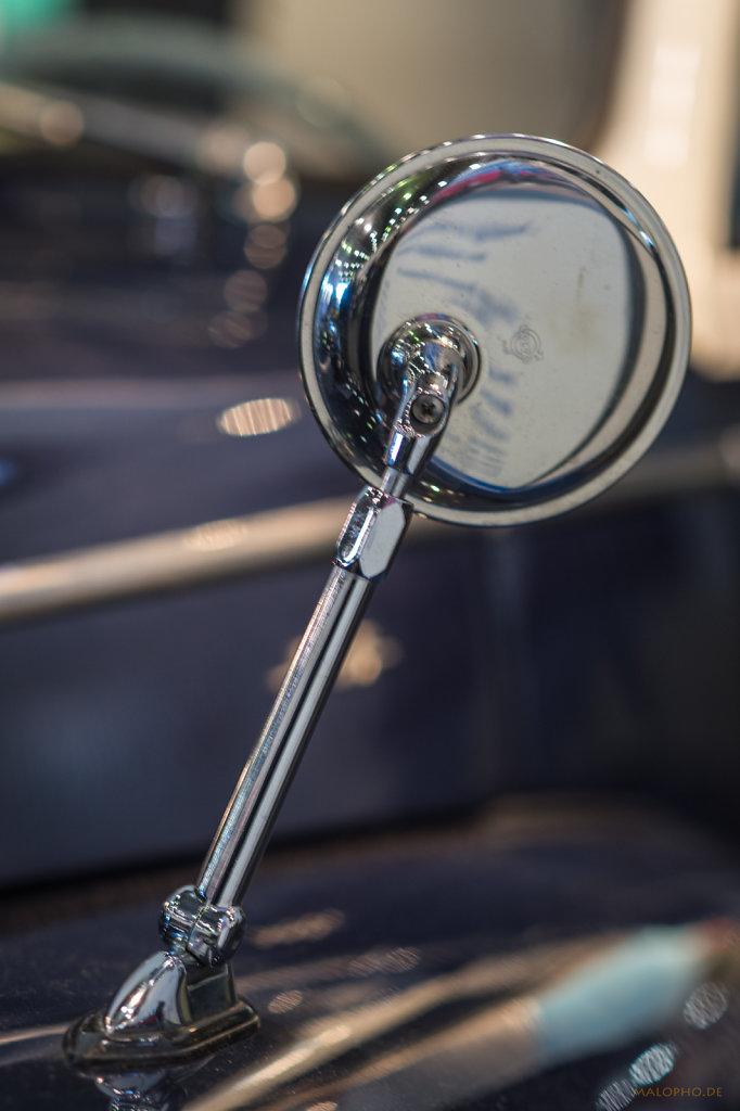 Volvo PV 444 Rückspiegel