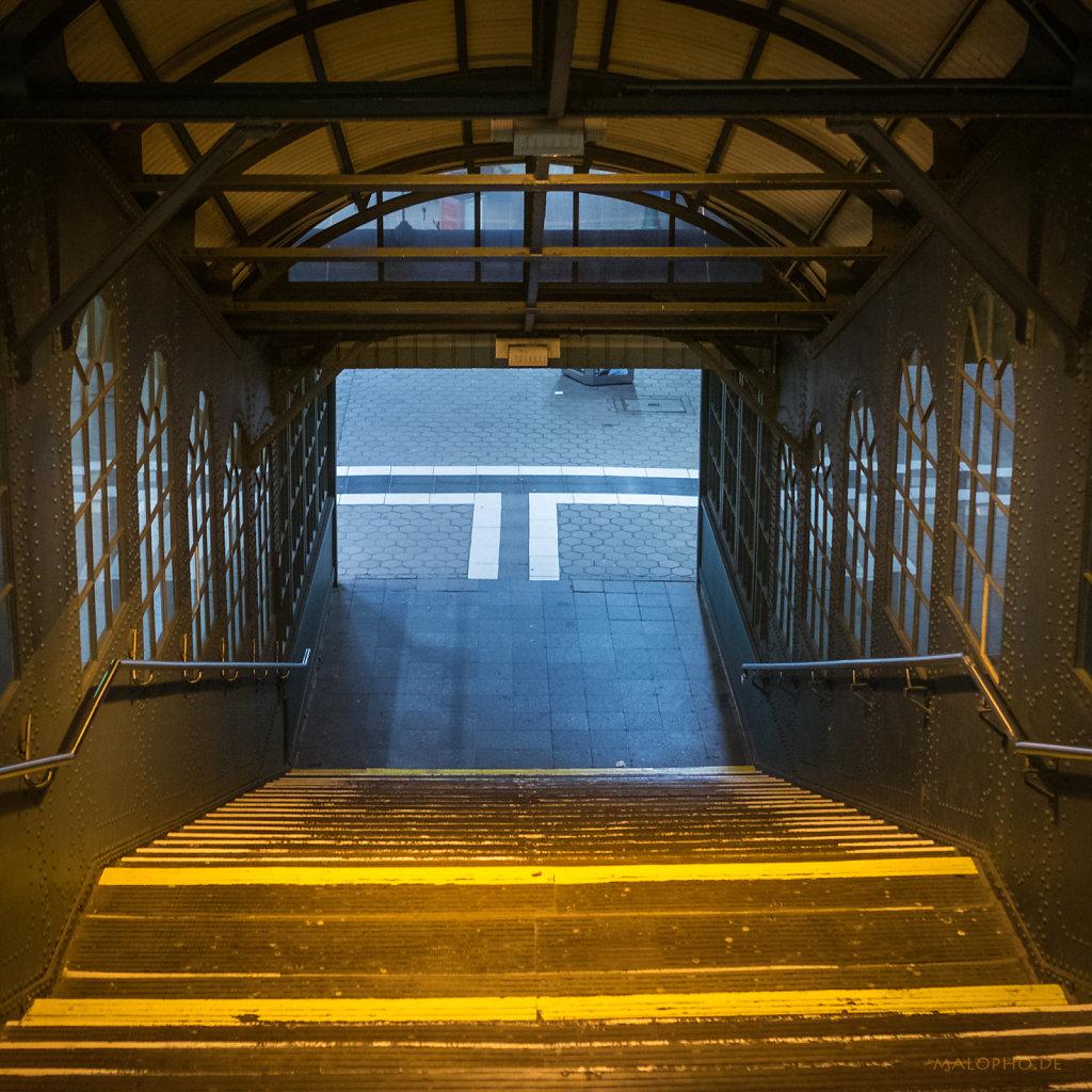 Bahnsteigtreppe