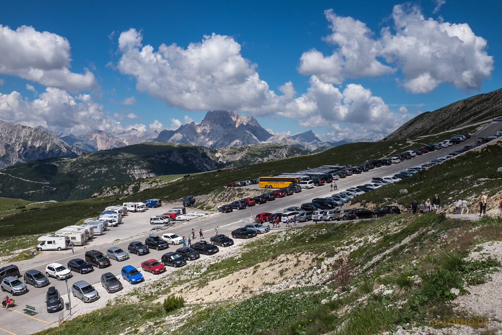Grossparkplatz Rifugion Auronzo-1