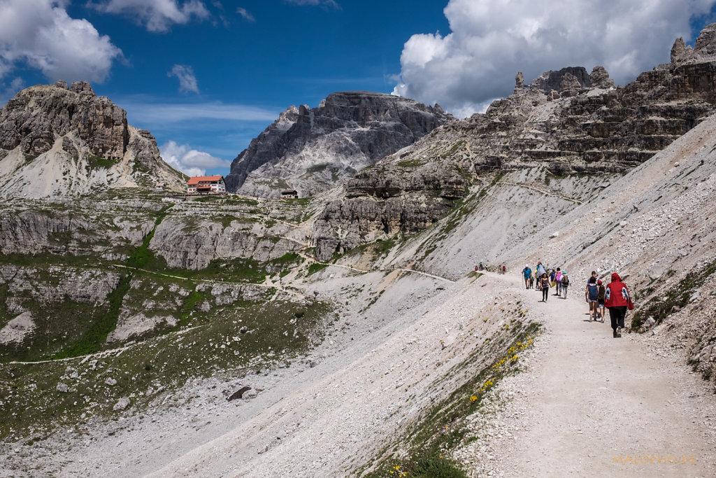 Weg zur Drei-Zinnen-Hütte-2