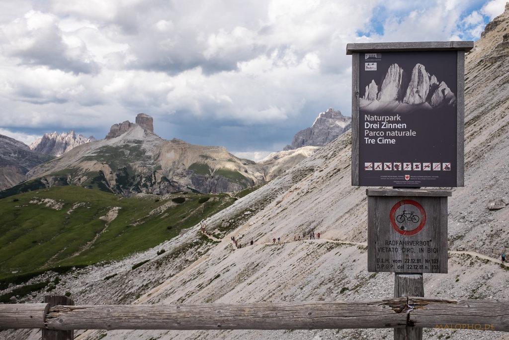 Naturparkhinweis