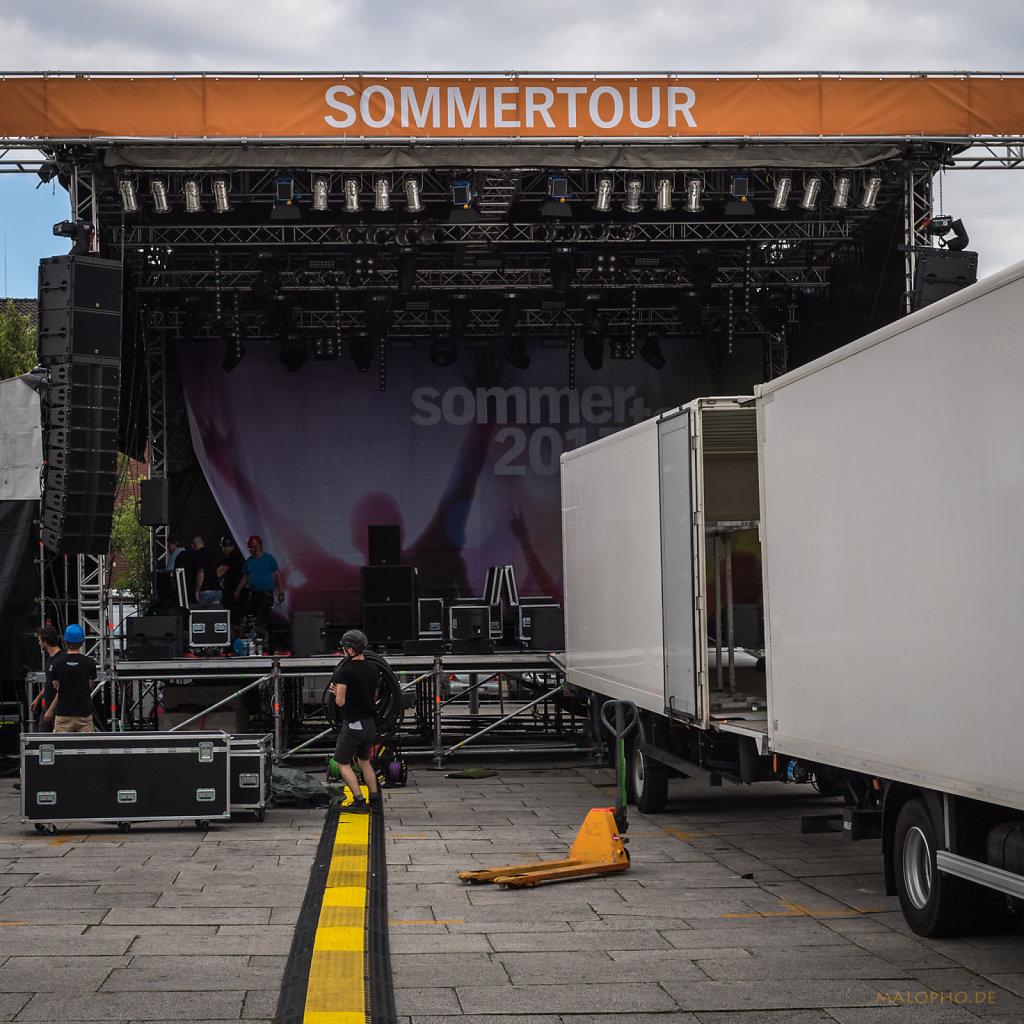 Sommertour Bühne