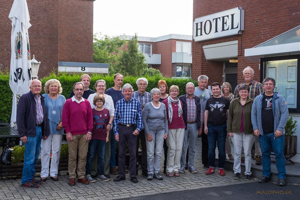 Gruppenfoto Münsterreise
