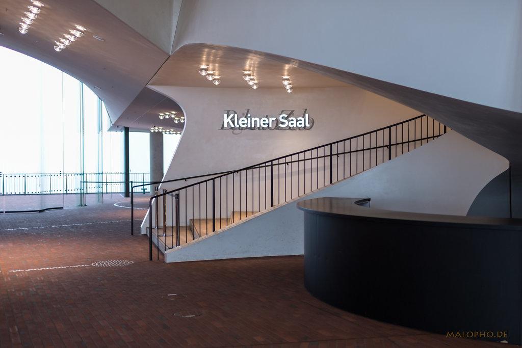 Elphi Kleiner Saal Treppe