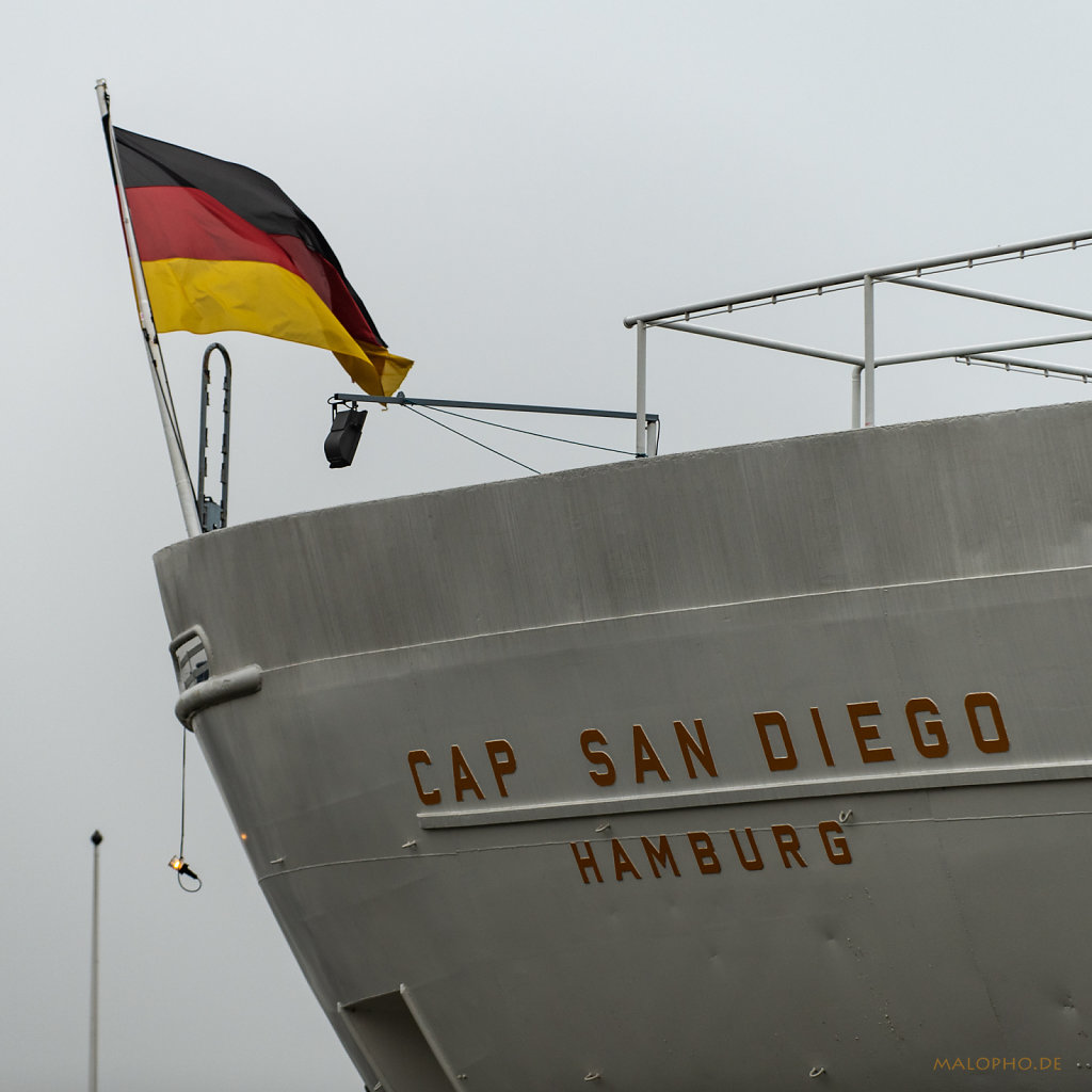 Fahne San Diego