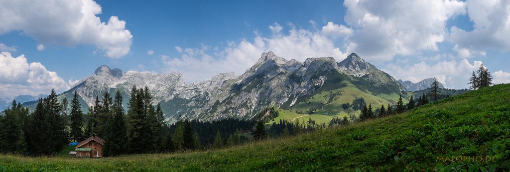 Panorama Tennengebirge
