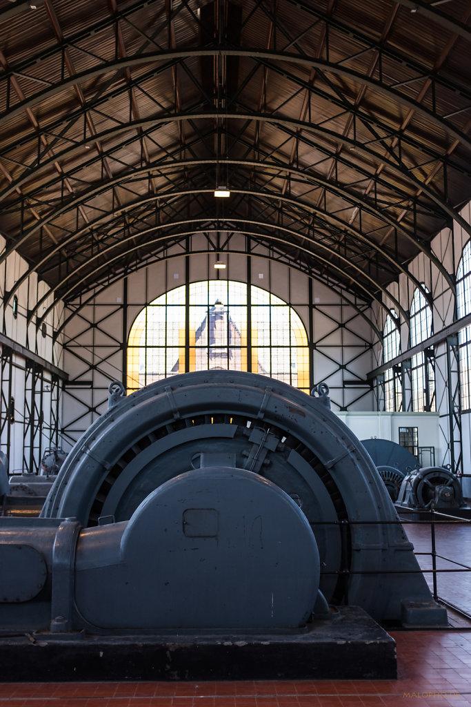 Maschinenhalle innen