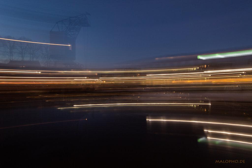 Hafen Abstrakt 2019