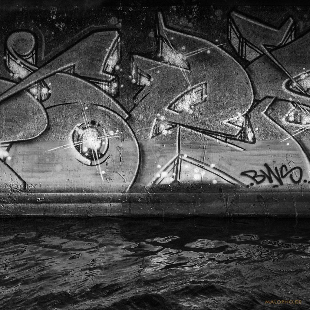 Wassergrafitti