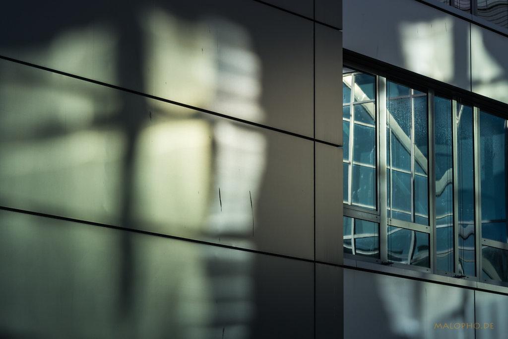 Fenster und Reflexion