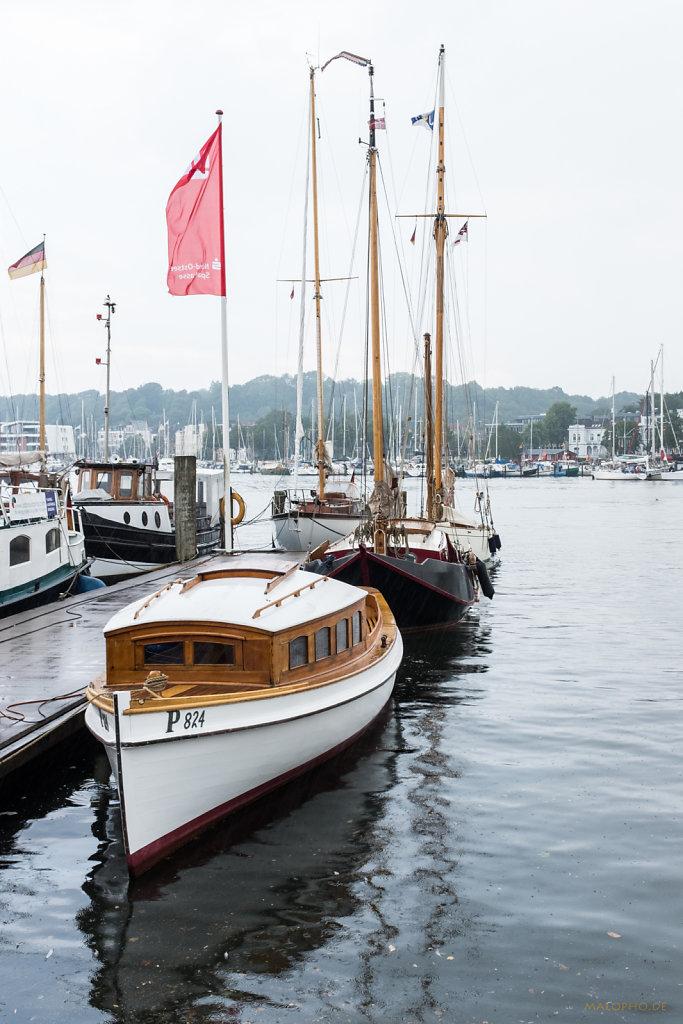 Alte Yachten