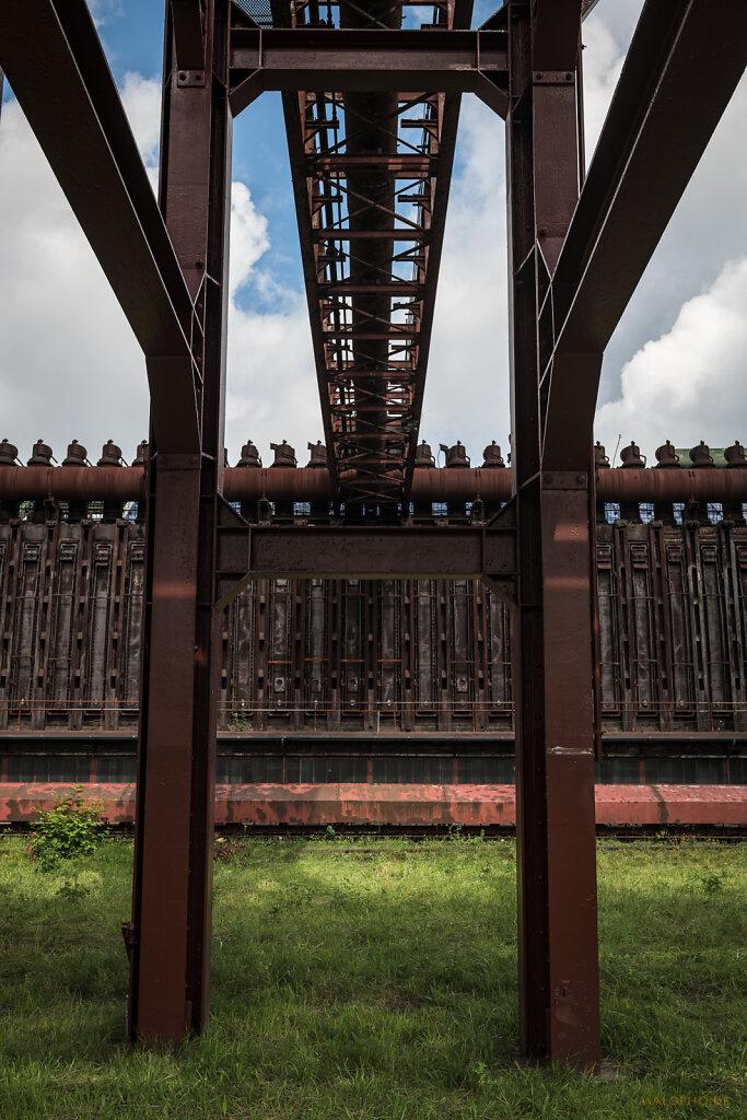 Rohrbrücke Ofen